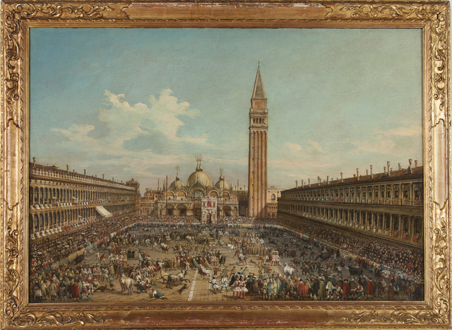 , 'The Hunting of Bulls in Piazza San Marco,' , Museo Soumaya