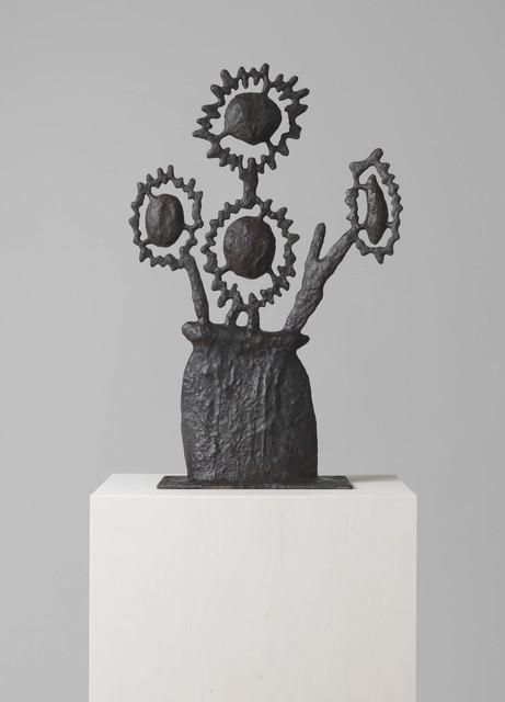 Donald Baechler, 'UNTITLED (FLOWER SCULPTURE FOUR)', 2017, Cheim & Read