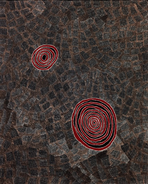 , 'Wentja Napaltjari's Country by Wentja Napaltjarri (panel 3 of triptych),' 2016, Nanda\Hobbs