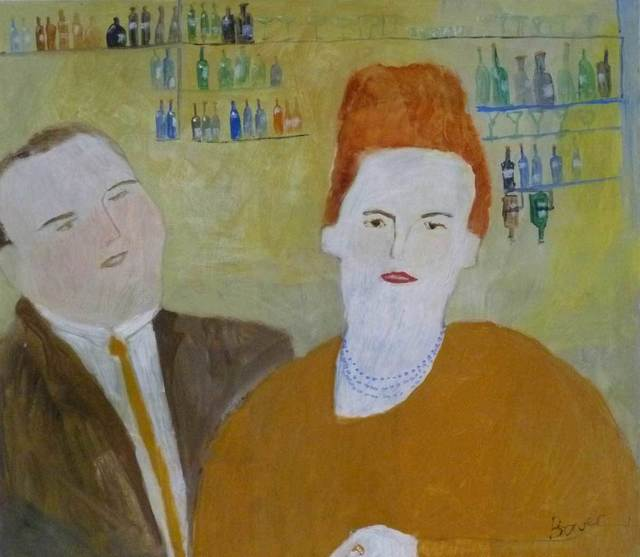 , 'The Landlord's Wife,' , Mall Galleries