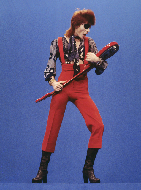 Gijsbert Hanekroot, 'David Bowie, Studio 5 Hilversum - The Netherlands', 15 Feb 1974, Achillea Gallery