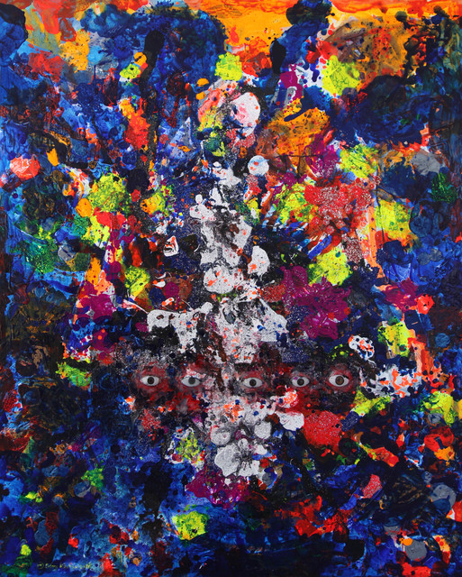 , 'Precaution: Five Eyes,' 2018, Mizuma Art Gallery