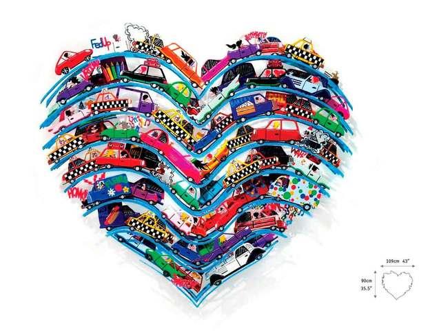 , 'Heart Beeps,' 2015, Eden Fine Art