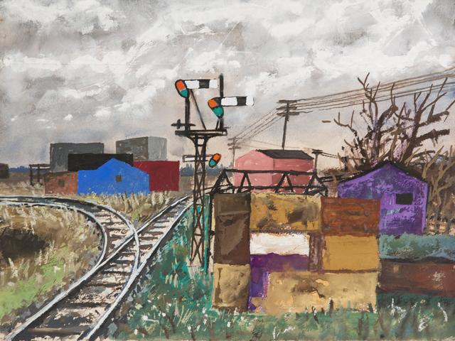 """, 'Sin título. De la serie """"Suburbios"""" ,' ca. 1955, Cosmocosa"""
