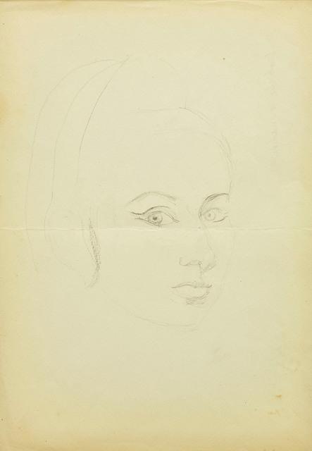 , 'Self-portrait,' ca. 1960, Dawid Radziszewski