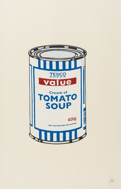 Banksy, 'Soup Can (Original)', 2005, Forum Auctions