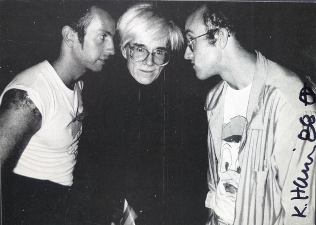 Keith Haring, 'Kenny Scharf  Andy Warhol  Keith Haring', 1985-1987, Ephemera or Merchandise, Paper, Bengtsson Fine Art