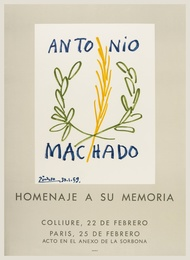 After Pablo Picasso, 'Antonio Machado (CZW.156),' 1959, Forum Auctions: Editions and Works on Paper (March 2017)