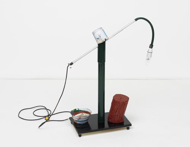 , 'limp lamp,' 2016, Maccarone