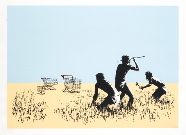 Banksy, 'Trolleys (Colour)', 2007, Tate Ward Auctions