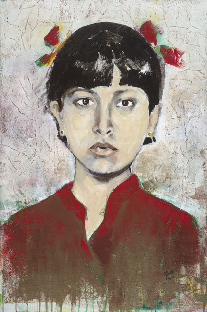 , 'Young Aung San Suu Kyi,' 2017, Seager Gray Gallery