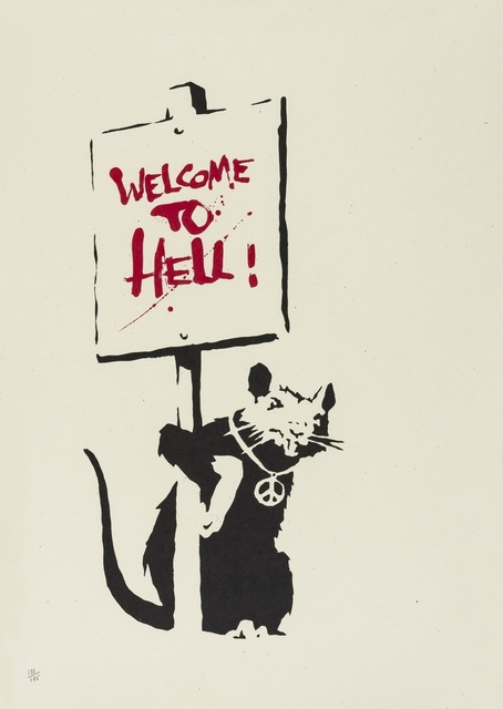 Banksy, 'Welcome to Hell', 2004, Forum Auctions