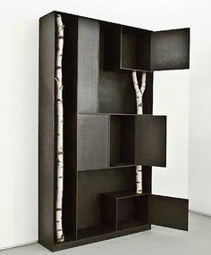 , 'Bookcase Tree,' 2010, Jeff Lincoln Art+Design