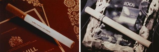 , 'Untitled (Cigarettes),' 1978-1979, Kunstmuseum Basel
