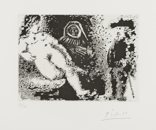 Pablo Picasso, 'Procuress, Reclining Nude and Old Man (from 347 Series) (Bloch 1588)', 1968, Forum Auctions