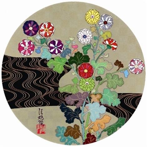 Takashi Murakami, 'Kansei Korin Gold', 2010, Lougher Contemporary