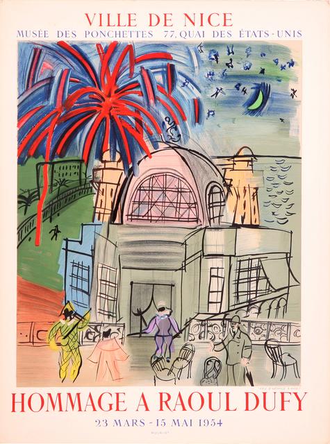 Raoul Dufy, 'Hommage a Raoul Dufy', 1954, Zuleika Gallery