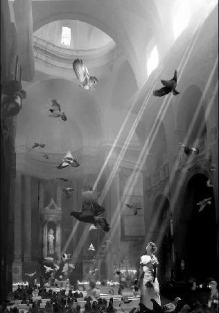 , 'Nella Cathedralle,' 2008, Mondejar Gallery