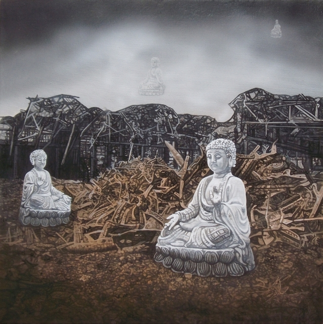 , 'The Buddha Transcends Duality,' 2016, Walter Wickiser Gallery