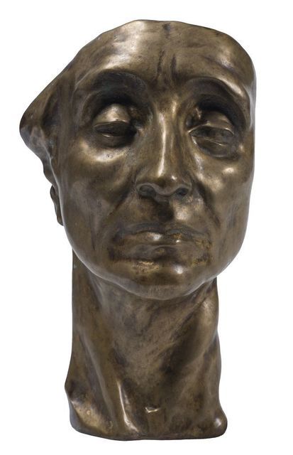 Amedeo Bocchi, 'Head of Man', 1920, Wallector