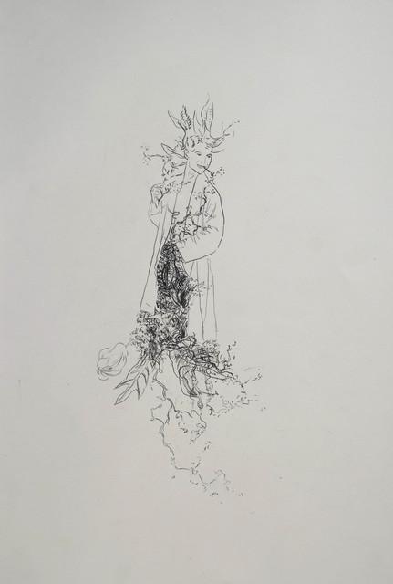 , 'le bourgeon (die Knospe),' 2018, Galerie Heike Strelow