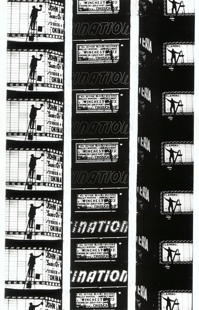 ", 'Filmstrips from ""Broadway by Light "" # 2, New York,' 1958, Polka Galerie"