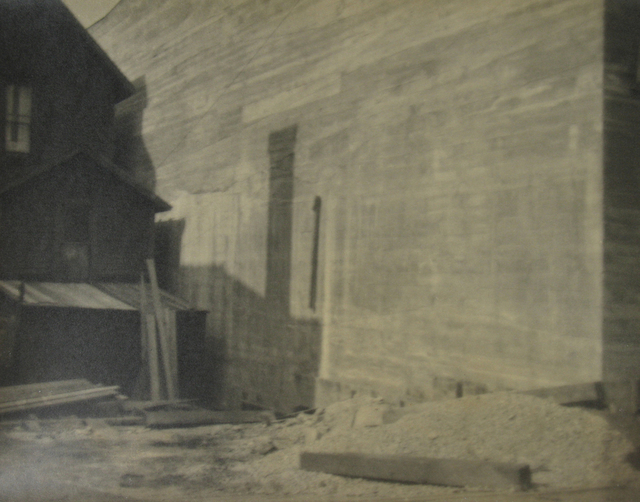 , 'Untitled (house and beams),' ca. 1930, Stephen Bulger Gallery