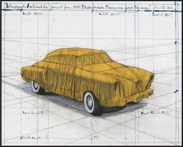Christo, 'Wrapped Automobile', 2015, Galerie Kellermann