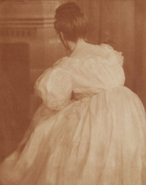Heinrich Kuehn, 'Miss Mary in Evening Costume,' ca. 1908, Phillips: The Odyssey of Collecting