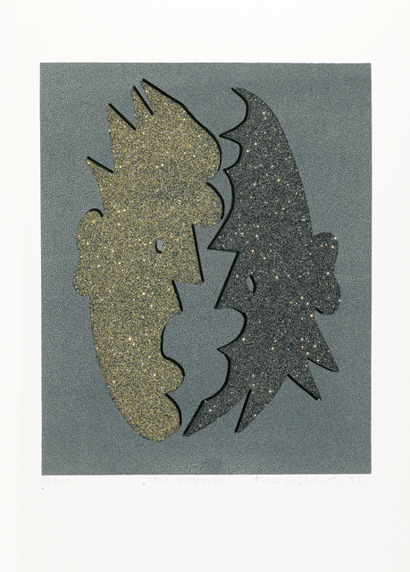 , 'Split Silver and Gold,' 1996, Galerie Bei Der Albertina Zetter