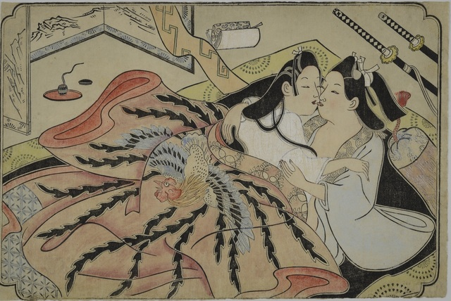 Sugimura Jihei, 'Untitled erotic picture,' Mid 1680s, British Museum