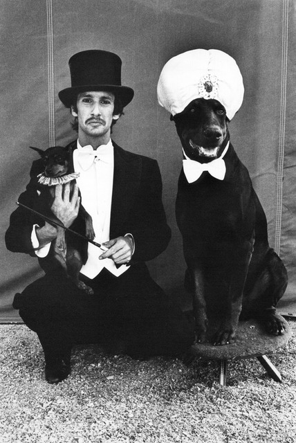 , 'Lloyd Steir and Dogs at the Big Apple Circus, NY,' 1976, Galerie Bene Taschen