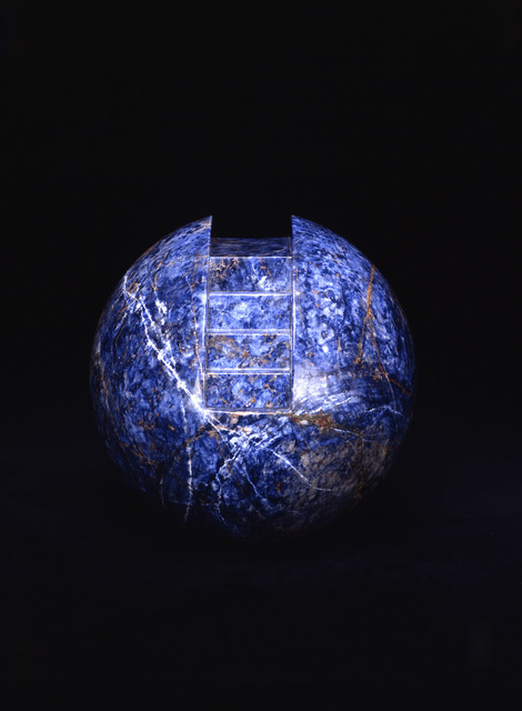 """, '""""The Sphere with Stairs"""",' 1989, Michael Werner Gallery"""