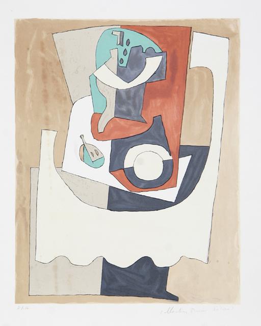 Pablo Picasso, 'Nature Morte au Gueridon et à L'Assiette, 1920', 1979-1982, Print, Lithograph on Arches paper, RoGallery