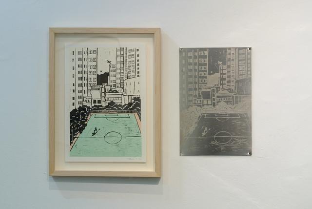 June Ho, 'Looking Down', 2019, Karin Weber Gallery