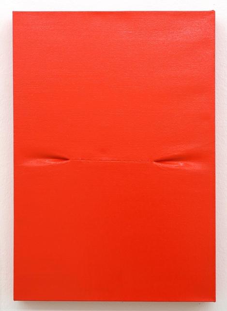 , 'Scar (Red) I,' 2016, Galerie Krinzinger