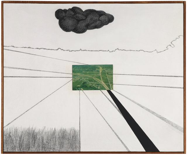 , 'Double Overpass #2,' 1960, Barbara Mathes Gallery