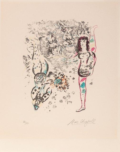 Marc Chagall, 'Le Jeu des Acrobates', 1963, Heritage Auctions