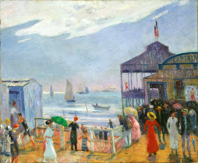 , 'Captain's Pier,' 1912–14, Parrish Art Museum