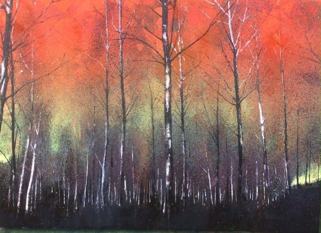 , 'Orange Forest ,' 2017, Long & Ryle