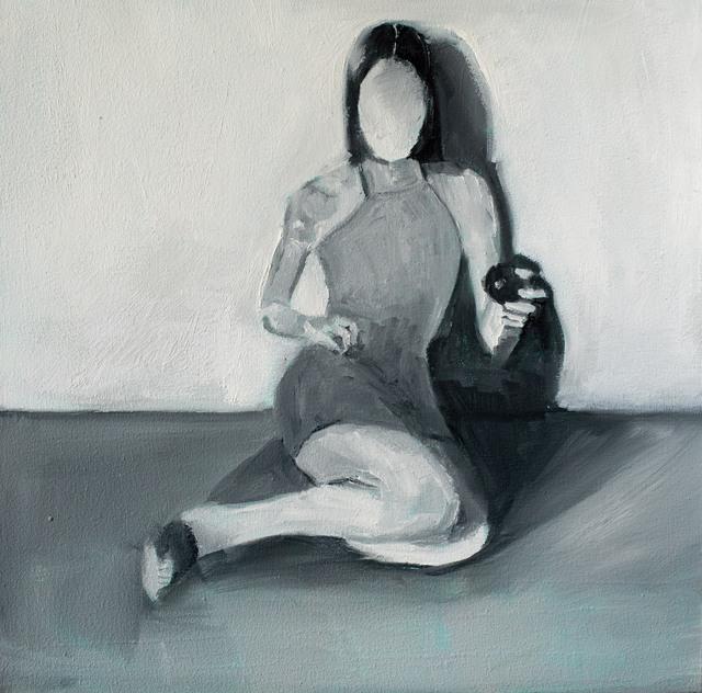 Wladymir Bernechea, 'La luz', 2021, Painting, 40 x 40 cm, Isabel Croxatto Galería