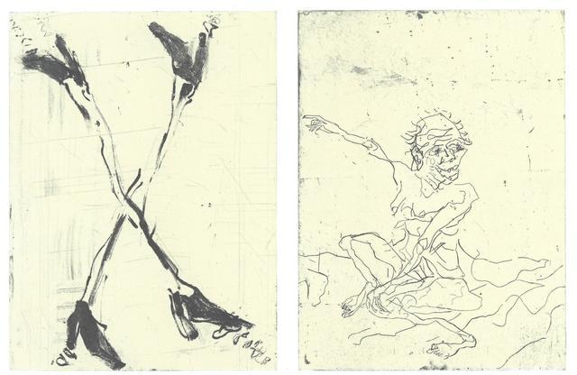 , 'Beuch von Hokusai III,' 2015, Henze & Ketterer