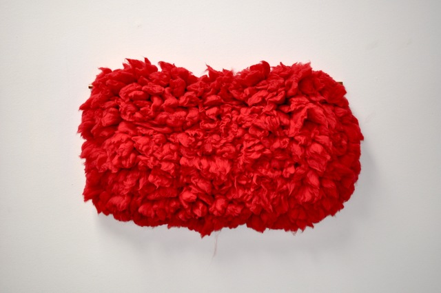 , 'Red Sheep,' 2016, Glass Rice