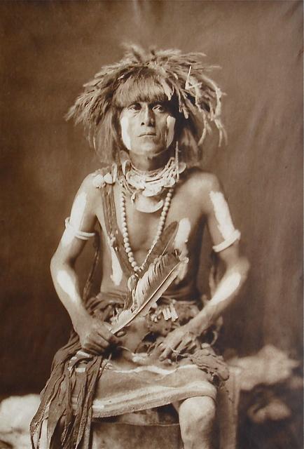 , 'Honovi-Walpi Snake Priest,' 1921, Bruce Kapson Gallery