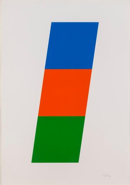 Ellsworth Kelly, 'Blue, Red-Orange, Green', 1970-1971, F.L. Braswell Fine Art