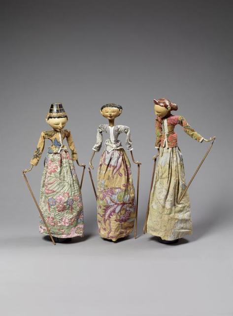 , 'Ensemble of marionettes ,' 20th century, Musée national des arts asiatiques - Guimet