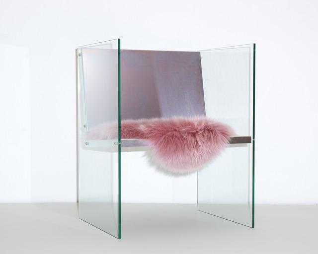 Fredrik Paulsen, 'Glass & Steel Chair', 2017, Etage Projects