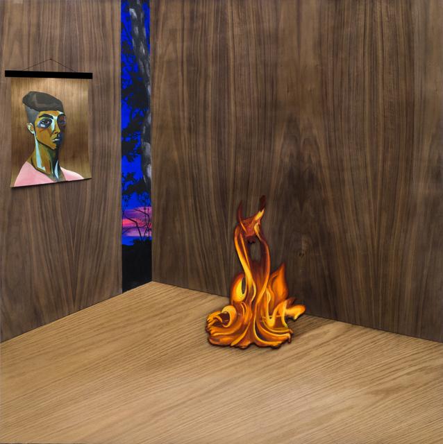 , 'Tamed Fire,' 2016, Machete