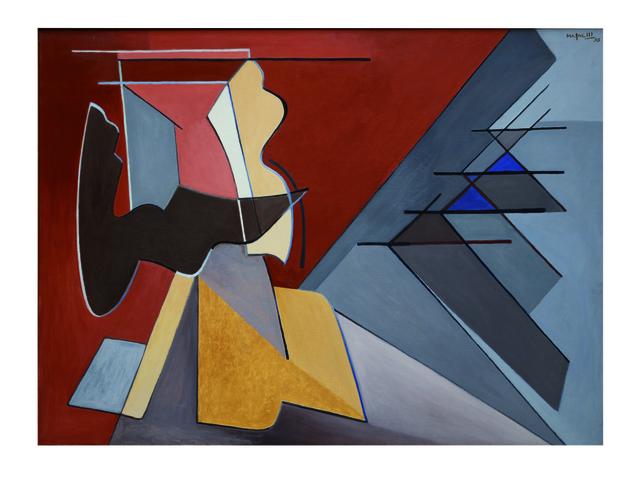 , 'Contrastes violentés,' 1956, Lorenzelli arte