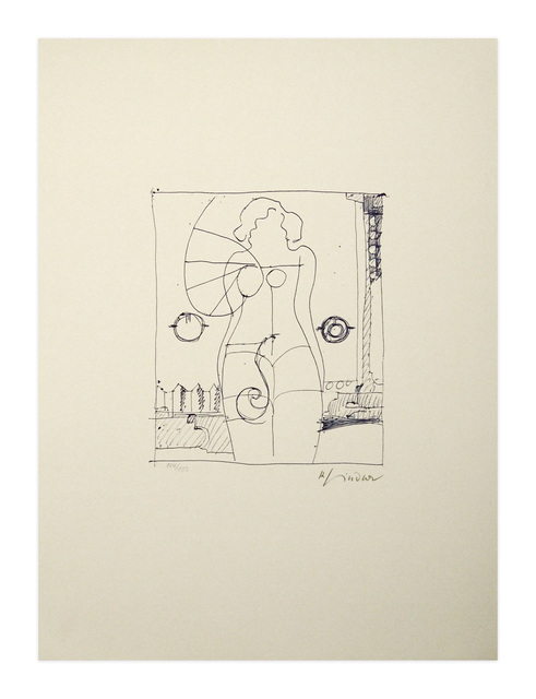Richard Lindner, 'Marilyn was here 8', 1970, Print, Lithographie, Kunzt Gallery